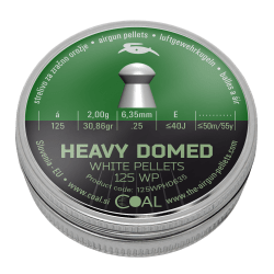 Heavy Domed 125 WP 6.35 / .25