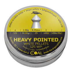 Heavy Pointed 125 WP 6.35 / .25